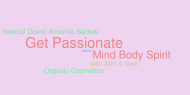 26th Mar 2012 7pm GMT – Mind, Body, Spirit: Organic Cosmetics with Amanda Barlow